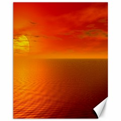 Sunset Canvas 11  X 14  (unframed) by Siebenhuehner