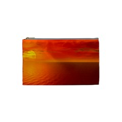 Sunset Cosmetic Bag (small) by Siebenhuehner