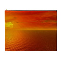 Sunset Cosmetic Bag (xl) by Siebenhuehner