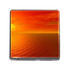 Sunset Memory Card Reader With Storage (square) by Siebenhuehner