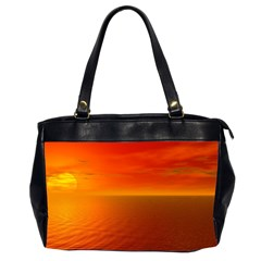 Sunset Oversize Office Handbag (two Sides) by Siebenhuehner