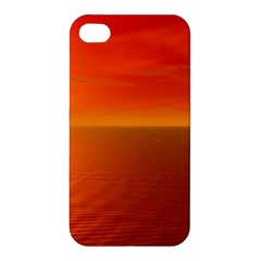 Sunset Apple Iphone 4/4s Premium Hardshell Case by Siebenhuehner
