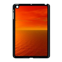 Sunset Apple Ipad Mini Case (black) by Siebenhuehner