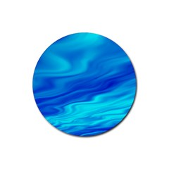 Blue Drink Coaster (round) by Siebenhuehner