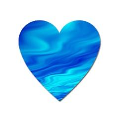Blue Magnet (heart) by Siebenhuehner