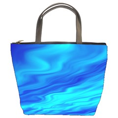 Blue Bucket Bag by Siebenhuehner