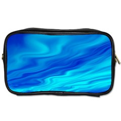 Blue Travel Toiletry Bag (two Sides) by Siebenhuehner
