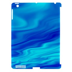 Blue Apple Ipad 3/4 Hardshell Case (compatible With Smart Cover) by Siebenhuehner