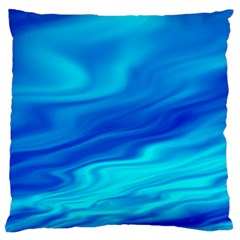 Blue Large Cushion Case (two Sided)  by Siebenhuehner