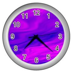Design Wall Clock (silver) by Siebenhuehner