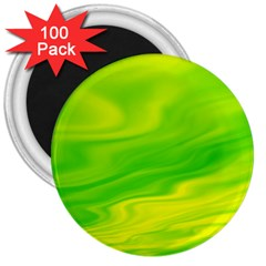 Green 3  Button Magnet (100 Pack) by Siebenhuehner