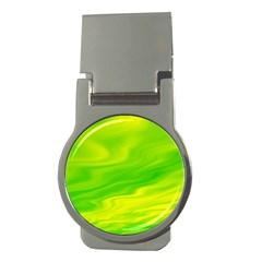 Green Money Clip (round) by Siebenhuehner