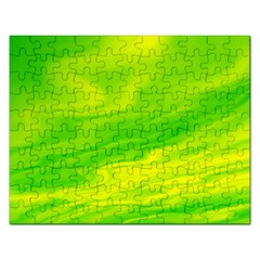 Green Jigsaw Puzzle (rectangle) by Siebenhuehner