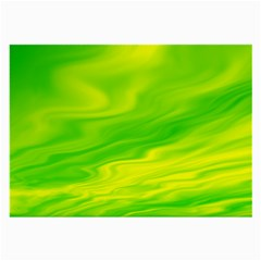 Green Glasses Cloth (large, Two Sided) by Siebenhuehner