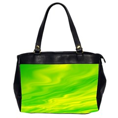 Green Oversize Office Handbag (two Sides) by Siebenhuehner