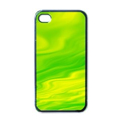 Green Apple Iphone 4 Case (black) by Siebenhuehner