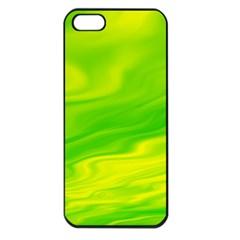 Green Apple Iphone 5 Seamless Case (black) by Siebenhuehner
