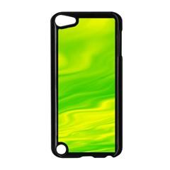 Green Apple Ipod Touch 5 Case (black) by Siebenhuehner