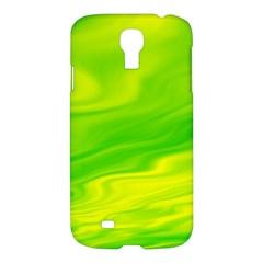 Green Samsung Galaxy S4 I9500/i9505 Hardshell Case by Siebenhuehner
