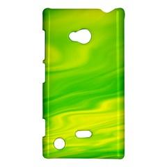 Green Nokia Lumia 720 Hardshell Case by Siebenhuehner