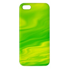 Green Iphone 5s Premium Hardshell Case by Siebenhuehner