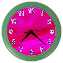 Design Wall Clock (color) by Siebenhuehner