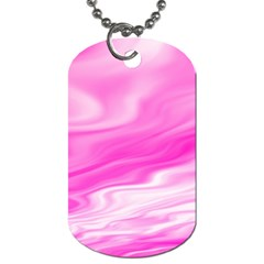 Background Dog Tag (one Sided) by Siebenhuehner