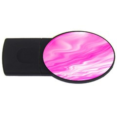 Background 2gb Usb Flash Drive (oval)