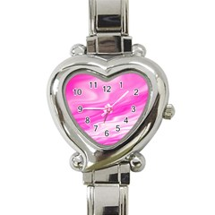 Background Heart Italian Charm Watch  by Siebenhuehner