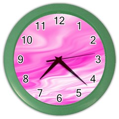 Background Wall Clock (color) by Siebenhuehner