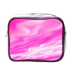 Background Mini Travel Toiletry Bag (one Side) by Siebenhuehner