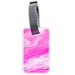 Background Luggage Tag (one Side) by Siebenhuehner