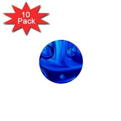 Modern  1  Mini Button Magnet (10 Pack) by Siebenhuehner