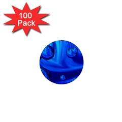 Modern  1  Mini Button Magnet (100 Pack) by Siebenhuehner