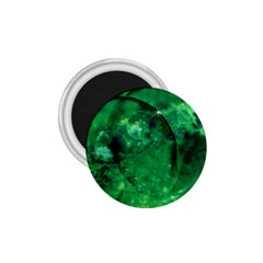 Green Bubbles 1 75  Button Magnet by Siebenhuehner
