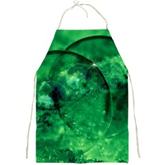 Green Bubbles Apron by Siebenhuehner