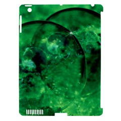 Green Bubbles Apple Ipad 3/4 Hardshell Case (compatible With Smart Cover) by Siebenhuehner