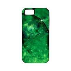 Green Bubbles Apple Iphone 5 Classic Hardshell Case (pc+silicone) by Siebenhuehner