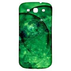 Green Bubbles Samsung Galaxy S3 S Iii Classic Hardshell Back Case by Siebenhuehner