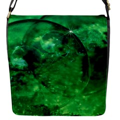 Green Bubbles Removable Flap Cover (small) by Siebenhuehner