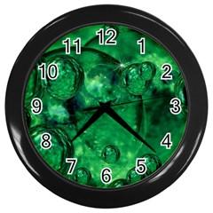 Illusion Wall Clock (black) by Siebenhuehner