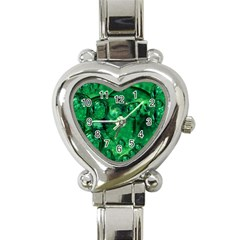 Illusion Heart Italian Charm Watch  by Siebenhuehner