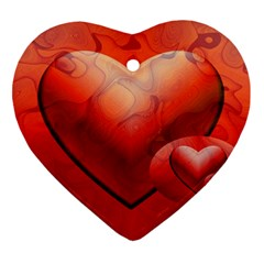 Love Heart Ornament by Siebenhuehner