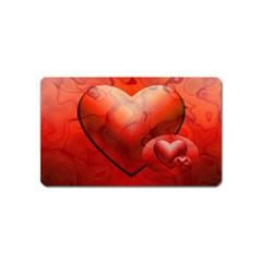 Love Magnet (name Card) by Siebenhuehner