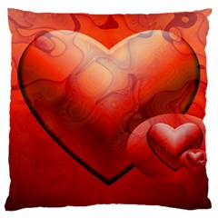 Love Large Cushion Case (single Sided)  by Siebenhuehner