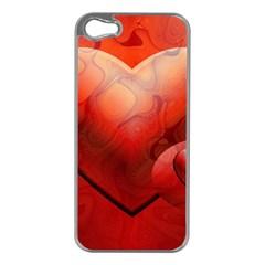 Love Apple Iphone 5 Case (silver) by Siebenhuehner