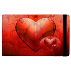 Love Apple Ipad 3/4 Flip Case by Siebenhuehner