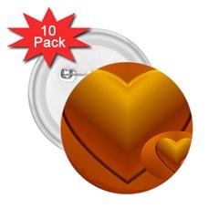 Love 2 25  Button (10 Pack) by Siebenhuehner
