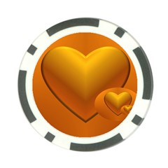 Love Poker Chip by Siebenhuehner