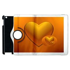Love Apple Ipad 2 Flip 360 Case by Siebenhuehner